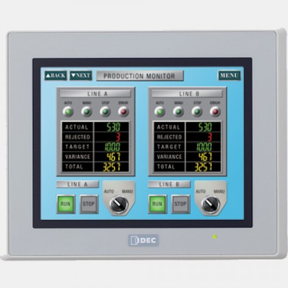 """Panel HMI 5,7"""" HG2G-V5FT22TF-W IDEC"""