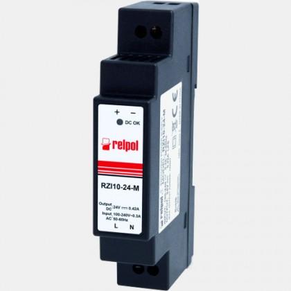 Zasilacz impulsowy RZI10-24-M Relpol 10W 230VAC 24VDC