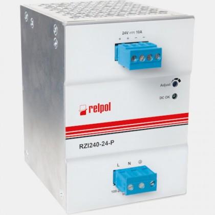 Zasilacz impulsowy RZI240-24-P Relpol 240W 230VAC 24VDC