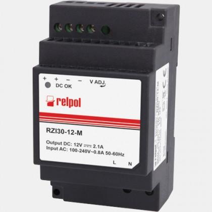 Zasilacz impulsowy RZI30-12-M Relpol 30W 230VAC 12VDC