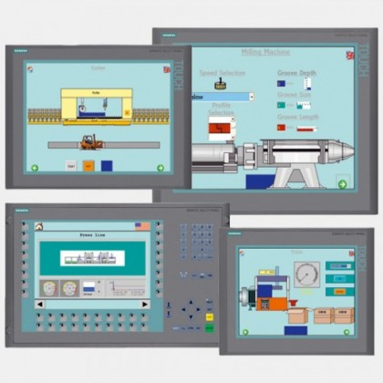 """Multipanel operatorski HMI 15"""" MP 377 Siemens 6AV6644-0AB01-2AX0"""