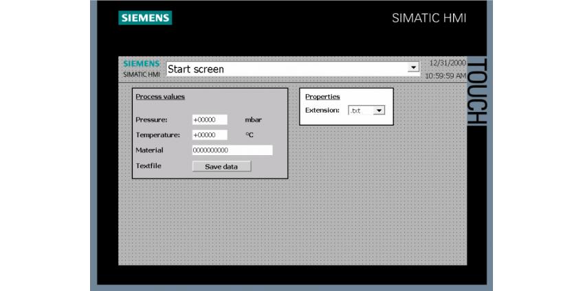 Stworzenie prostej wizualizacji na panelu Siemens w TIA Portal