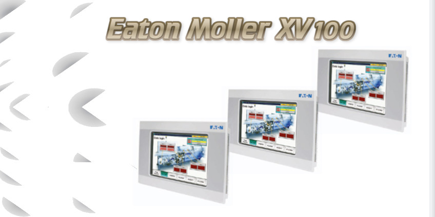 Charakterystyka paneli HMI Eaton XV100